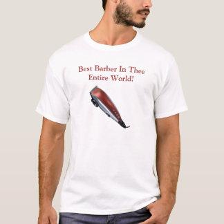 Camiseta ¡clippers1, el mejor peluquero en el mundo entero