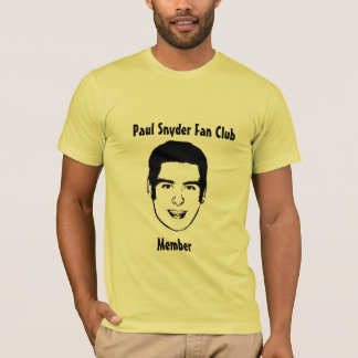 Camiseta Club de fans de Paul Snyder
