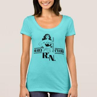 Camiseta Club de la enfermera del héroe