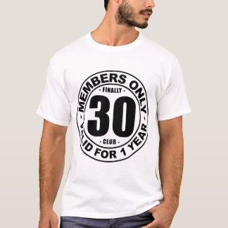 Camiseta Club finalmente 30