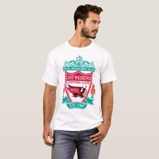Camiseta Club que acampa del fin de semana perdido
