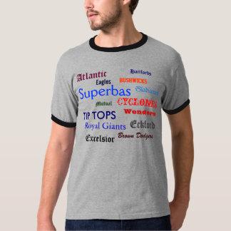 Camiseta Clubs de béisbol de Brooklyn