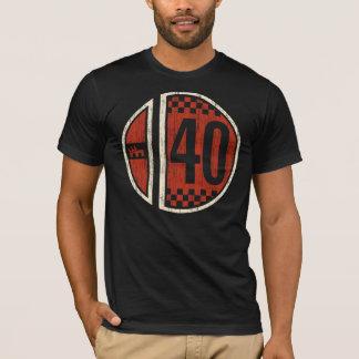 Camiseta Cm #40 retro que compite con (vintage)