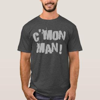 Camiseta ¡C'mon hombre! Gris