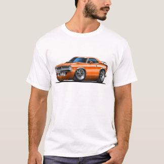 Camiseta Coche 1970 del naranja de Plymouth Cuda