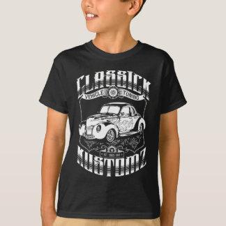 Camiseta Coche de carreras - Classick Kustomz (blanco)