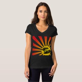 Camiseta Coche de carreras del sol naciente