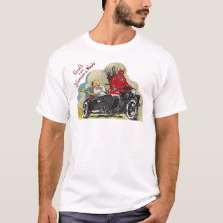 Camiseta Coche lateral Santa