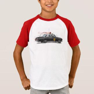 Camiseta Coche policía americano clásico