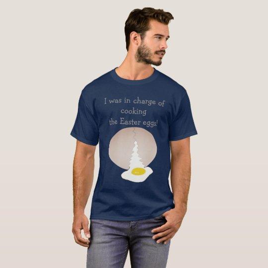 Camiseta Cocinar los huevos de Pascua