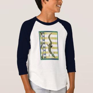 Camiseta cocodrilo verde 39