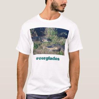 Camiseta Cocodrilos que toman el sol, parque nacional de