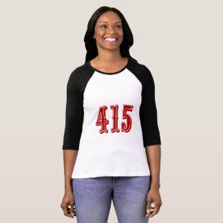 Camiseta Código de área 415