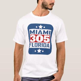 Camiseta Código de área de 305 Miami FL