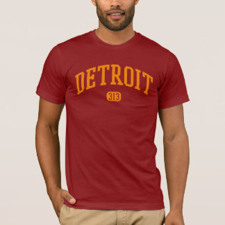 Camiseta Código de área de Detroit 313