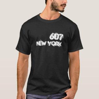 Camiseta Código de área de Nueva York 607