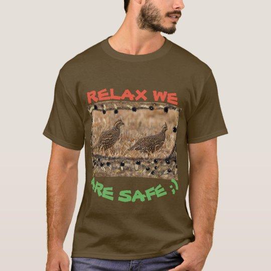 Camiseta codorniz Punto-hinchada