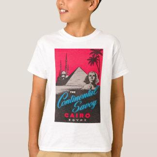 Camiseta Col rizada continental El Cairo Egipto
