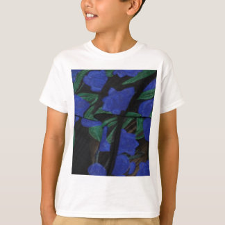 Camiseta Colección azul persa 2017 del diseñador