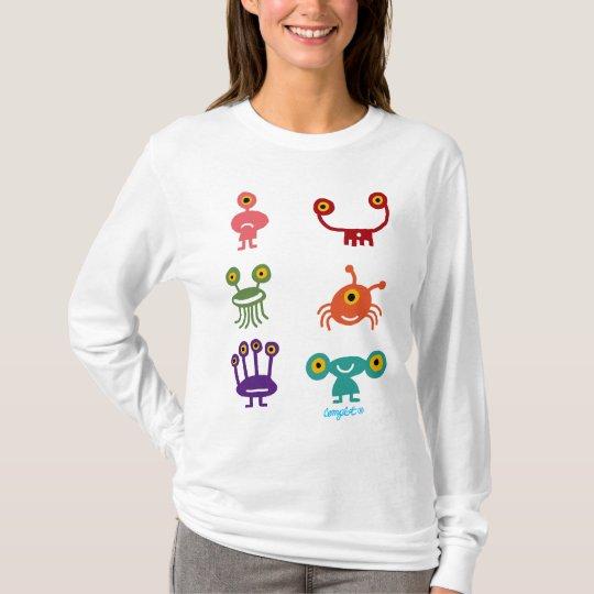 Camiseta Colección de Marcianos