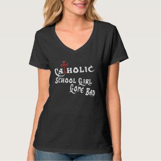 Camiseta Colegiala católica (oscura)