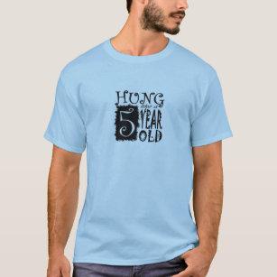 Camiseta Colgado como 5 años