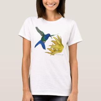 Camiseta colibrí Trago-atado