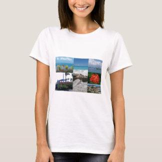 Camiseta Collage de la fotografía del St. Maarten-Sint