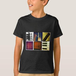 Camiseta Collage de la música