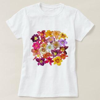 Camiseta Collage de los Daylilies