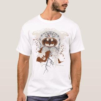 Camiseta Collage del vintage de Ribcage del símbolo del