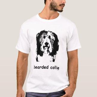 Camiseta Collie barbudo