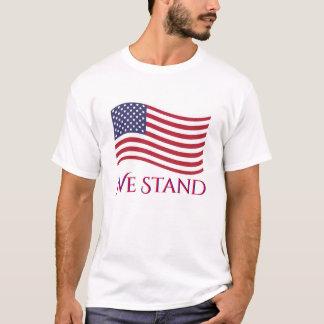 Camiseta Colocamos la bandera americana