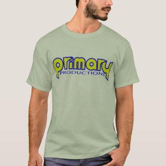 Camiseta Color claro t de las producciones primarias