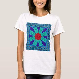 Camiseta Color femenino egipcio asombroso hermoso del