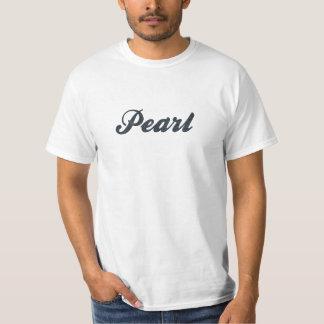 Camiseta Color negro de la perla