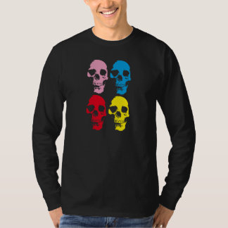 CAMISETA COLOR SKULLS