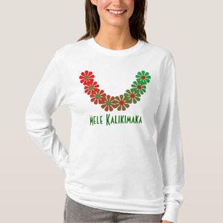 Camiseta Colores de las Felices Navidad de Mele Kalikimaka