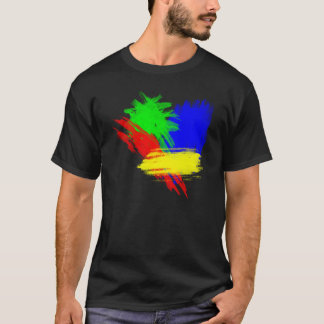 Camiseta Colores de Techno