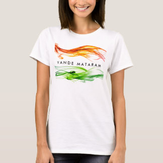 Camiseta Colores de Vande Mataram de la India