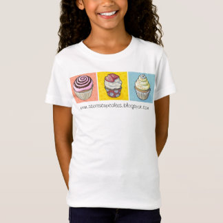Camiseta colores primarios del trío de la magdalena