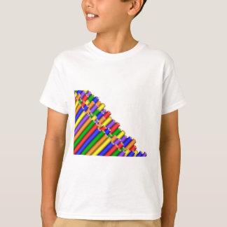 Camiseta colores y lápices