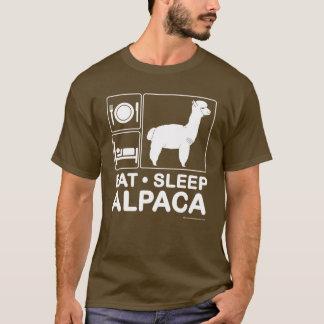 Camiseta Coma, duerma, alpaca