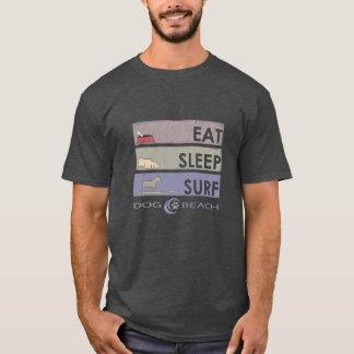 Camiseta Coma, duerma, practique surf