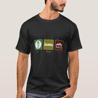 Camiseta Coma, duerma, tire