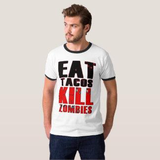 Camiseta Coma el Tacos, zombis de la matanza