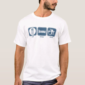 Camiseta coma el tambor del sueño