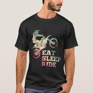 Camiseta Coma la bici de la suciedad del paseo del sueño