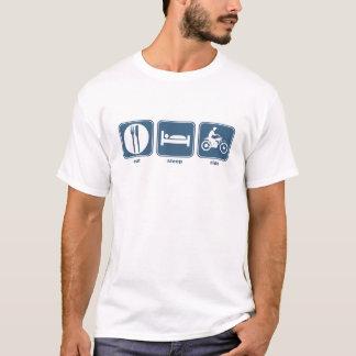 Camiseta coma la moto del sueño