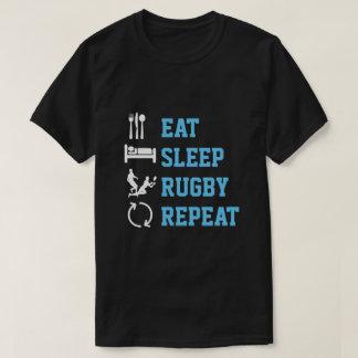 Camiseta Coma la versión de la oscuridad del deporte de la